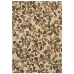 Angela Adams Beige Canopy 03100 Rug, 77 by 1010 Furniture & Decor