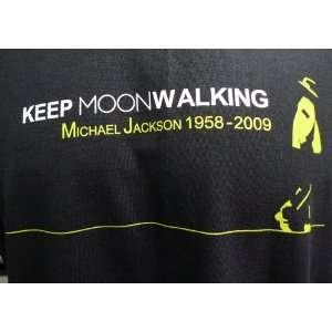 Keep Moon Walking Michael Jackson Beat It Billie Jean Thriller Rip MJ