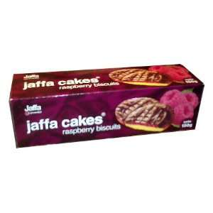 Jaffa Cakes, Raspberry biscuits, 150g Grocery & Gourmet Food