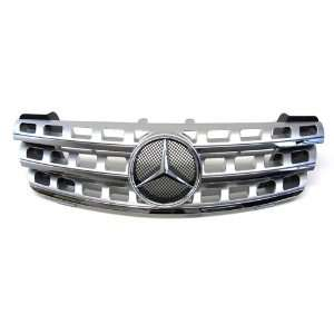 05 08 Mercedes Benz ML Class W164 Facelift Look Front Grille (Chrome