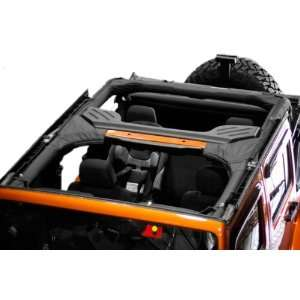 Rugged Ridge 13613.01 Black Polyester Roll Bar Cover for Jeep Wrangler