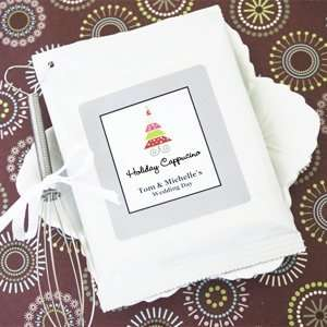 Hot Cappuccino + Optional Heart Whisk   Baby Shower Gifts & Wedding