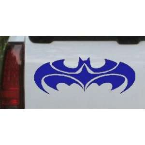 Tribal Batman Car Window Wall Laptop Decal Sticker    Blue