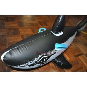 54 ride on inflatable shark splash and swim with