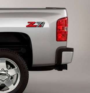 Z71 Decals Stickers Fit GMC SIERRA CHEVY SILVERADO