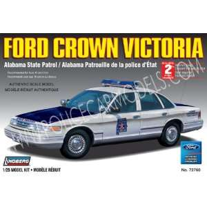 Lindberg Alabama State Police Ford KIT Toys & Games