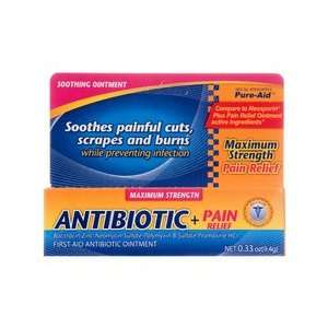 Plus PAIN Relief First Aid Antibiotic + Pain Relieving Ointment