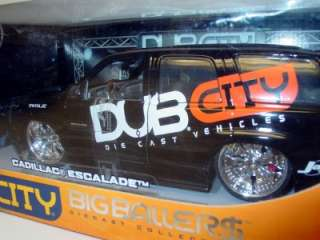 New Cadillac Escalade Dub City Big Ballers 118 Diecast Model Car