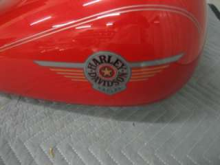 02 Harley FLSTF Softail Fatboy Fuel Gas Tank Real Red