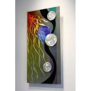 Metal Modern Abstract Wall Art Sculpture Decor, Design by