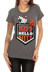 Hello Kitty Kiss Army Girls T Shirt