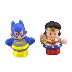 Little People DC Super Friends WONDER WOMAN & BATGIRL