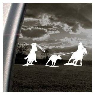 Team Roping Roper Horse Decal Truck Window Sticker by Ritrama