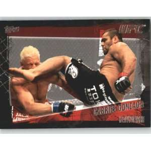 2010 Topps UFC Trading Card # 68 Gabriel Gonzaga (Ultimate