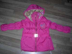 New~Winx Club Pink Girls Winter Coat.Jacket~Sz122 152cm