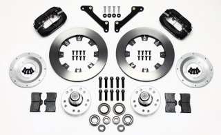 WILWOOD DISC BRAKE KIT,FRONT,79 81 CAMARO,12.19,BLACK