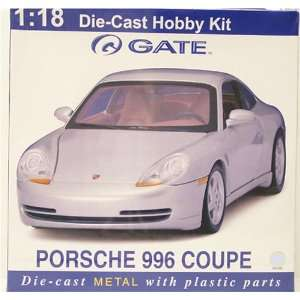 996 Coupe 118 Scale Die Cast Hobby Kit   Silver