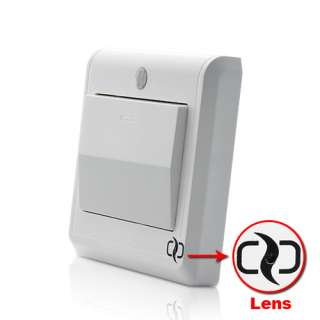 HD Spy Camera Light Switch with GSM Remote Control (Motion Detection