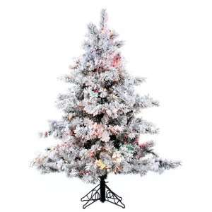 Alaskan Artificial Christmas Tree   Multi Lights