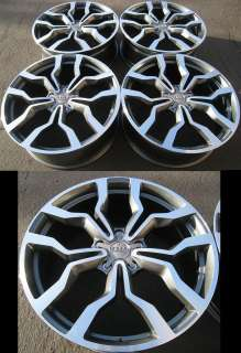 20 ALLOY WHEELS SET FOR AUDI A8 A4 A6 Q5 S LINE STYLE RIMS