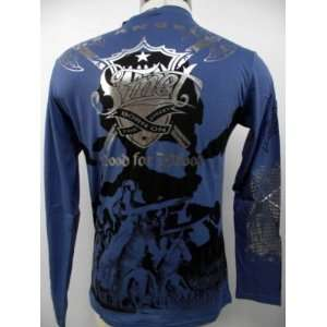 SMET CHRISTIAN AUDIGIER PLATINUM DEATH BATTLE MENS L/S TEE