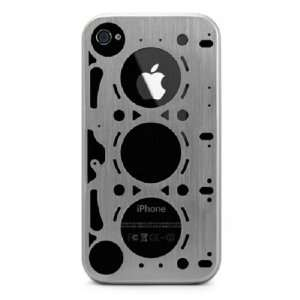 Gasket Brushed Aluminum Case for iPhone 4S 4 S FREE SAME DAY SHIPPING