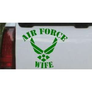 15.9in    Air Force Wife Military Car Window Wall Laptop Decal Sticker