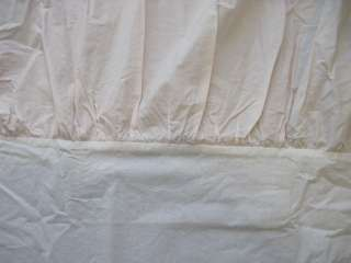 RACHEL ASHWELL SIMPLY SHABBY CHIC Pink Bedskirt Dust Ruffle TWIN