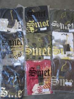 250 NWT Assort SMET Christian Audigier Mens tees shirts