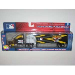 PIRATES Diecast 180 Scale Replica 06 Peterbilt Tractor Trailer