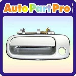 B388 92 96 Toyota Camry Outside Door Handle Silver 176 Front Left