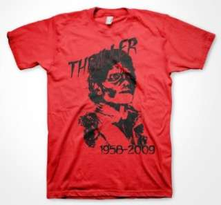 Michael Jackson Thriller T Shirt (Mens and Womens) Clothing