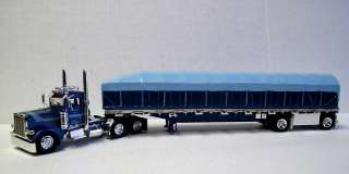 Tonkin Replicas Fondse Peterbilt 388 Day Cab with Covered Wagon