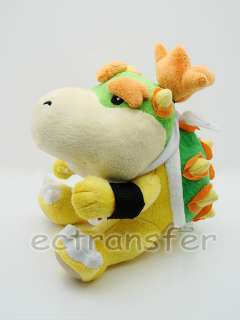New Super Mario Bros BOWSER 7 Plush Doll Cute/MT95