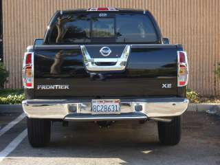 2005 2010 NISSAN FRONTIER CHROME TAIL LIGHT COVERS TFP