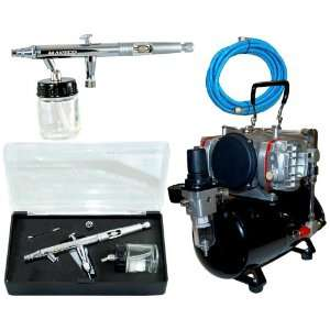 MASTER Airbrush S62 Dual Action Siphon Feed Airbrush with