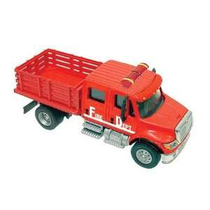 HO International 7000 Stake Bed, Fire/Red Toys & Games