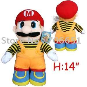 + 38cm super mario plush doll toy kids plush toy child plush toy mix