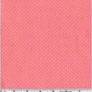 45 Wide Close To My Heart Tiny Dots Pink Fabric By The