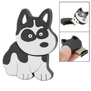 Wht Dog Shape T Flash Micro SD Card Reader