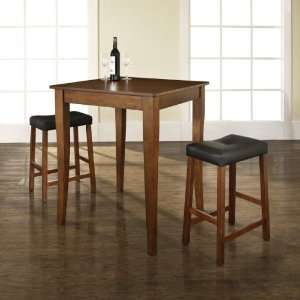 Crosley Furniture KD320004CH   3 Piece Pub Dining Set with Cabriole