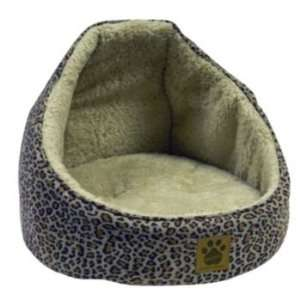 Precision Pet Simple Suede Hooded Cat Bed