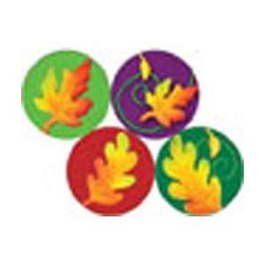 Autumn Leaves Clay Art Hot Spot Stickers Toys & Games