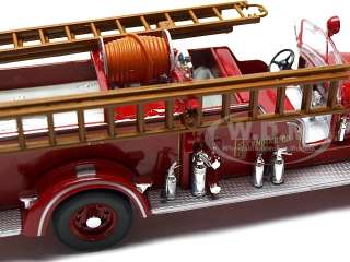 FIRE TRUCK RED 132 DIECAST MODEL CAR BY SIGNATURE MODELS 32400
