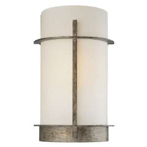 Compositions Collection 1 Light 12ö Aged Patina Iron Wall Sconce with