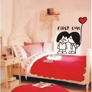 Large  Easy instant decoration wall sticker decor  first love Baby