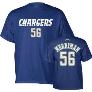 Shawne Merriman Reebok (New) Name and Number San Diego Chargers T