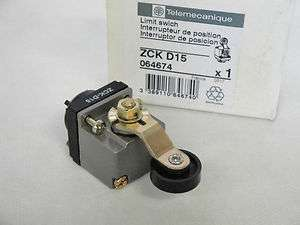 NEW IN BOX TELEMECANIQUE ZCK D15 LIMIT SWITCH HEAD ZCKD15