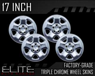 2006 2011 Honda Ridgeline 17 Chrome Wheel Skin Covers