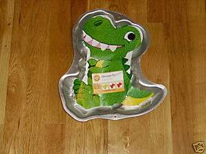 NEW WILTON T REX DINOSAUR BIRTHDAY CAKE PAN #2105 1022